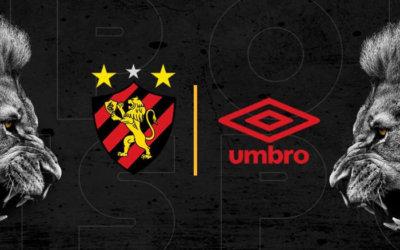 Sport anuncia Umbro como fornecedora de uniformes. Contrato até 2022