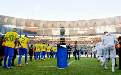 Copa América arrecada R$ 208 milhões, com média de 34 mil pessoas, a 5ª maior no Brasil