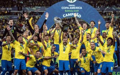 Brasil chega ao 18º título entre mundiais, intercontinentais e continentais. Recorde