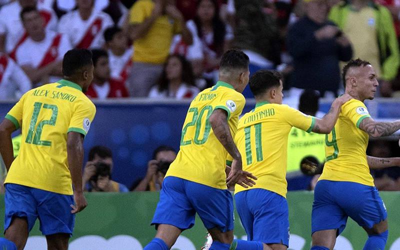 Brasil vence o Peru e conquista a Copa América como anfitrião pela 5ª vez