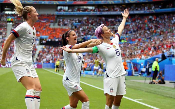 Seleção dos EUA ganha o título mundial feminino pela 4ª vez em 8 edições