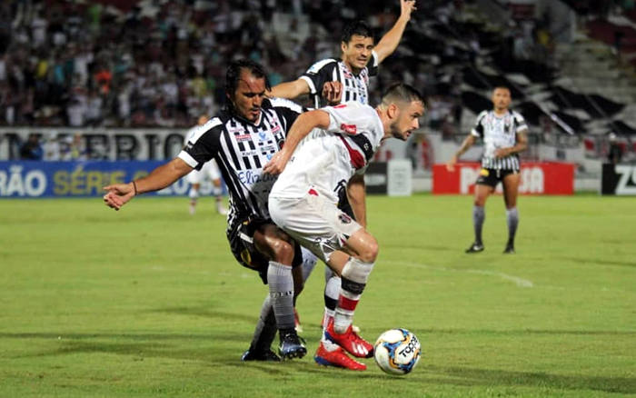 Santa marca aos 49/2T e empata com o Botafogo no Arruda. Insuficiente para o G4