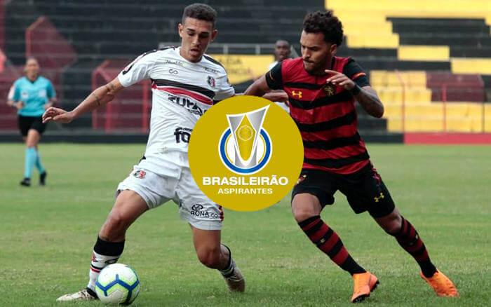 Santa e Sport deixam o Brasileiro de Aspirantes na 1ª fase: 2 vitórias cada