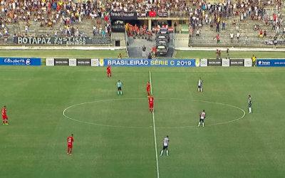 Ao vivo | Transmissão de Botafogo-PB x Náutico, pela Série C, via DAZN