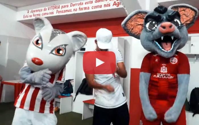 Vídeo | Os bastidores de Náutico 3 x 1 Santa Cruz, pela Série C de 2019