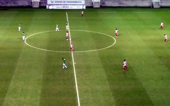 Ao vivo | Transmissão de Náutico x Porto-ES, pela Copa do Brasil Sub 17