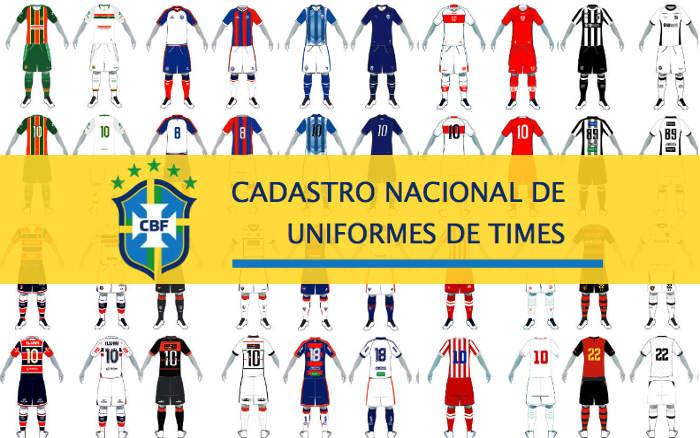 Os uniformes dos principais times do Nordeste cadastrados na CBF em 2019