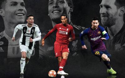 Os finalistas do prêmio de melhor jogador da Uefa em 2019. Spoiler do The Best?