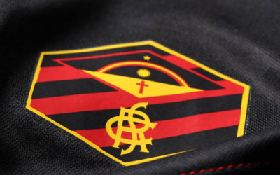 A 1ª linha de uniformes do Sport via Umbro, para a temporada 2019/2020