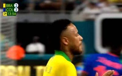 TV   As audiências do amistoso entre Brasil e Colômbia na Globo. Média de 28,5