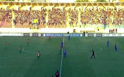 Ao vivo   Transmissão de Confiança x Sampaio Corrêa, a semifinal da Série C