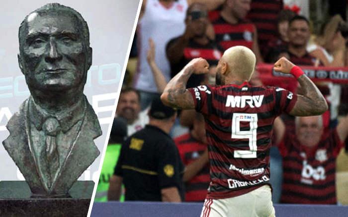 Flamengo termina 1º turno como líder e leva o Troféu Osmar Santos de 2019