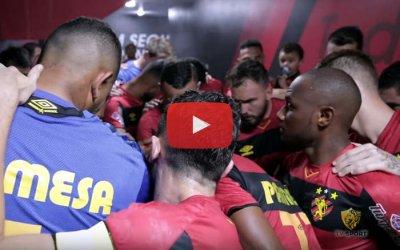 Vídeo | Os bastidores de Sport 3 x 1 Operário, pela Série B de 2019
