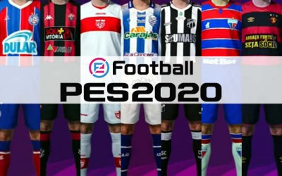 Game | Os uniformes e níveis dos 7 nordestinos licenciados no PES 2020