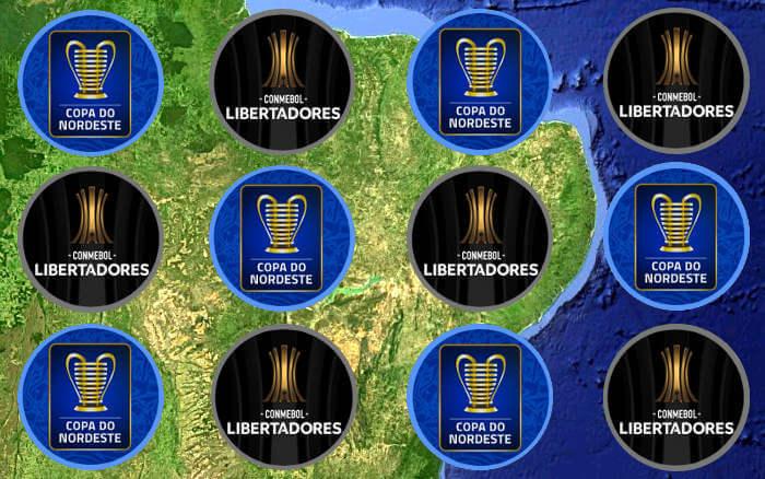 Participação na Libertadores e Copa do Nordeste? Não simultaneamente, diz CBF
