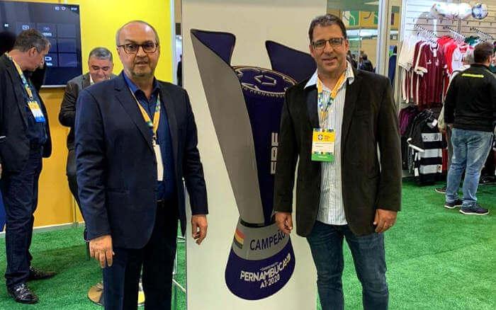 O design da nova taça do Campeonato Pernambucano. Estreia em 2020