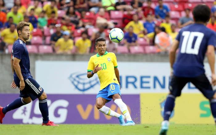 Seleção Olímpica toma virada do Japão  e volta a perder no Recife após 47 anos