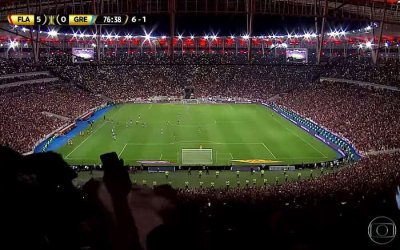 TV | As audiências de Flamengo x Grêmio, a semifinal da Libertadores na Globo