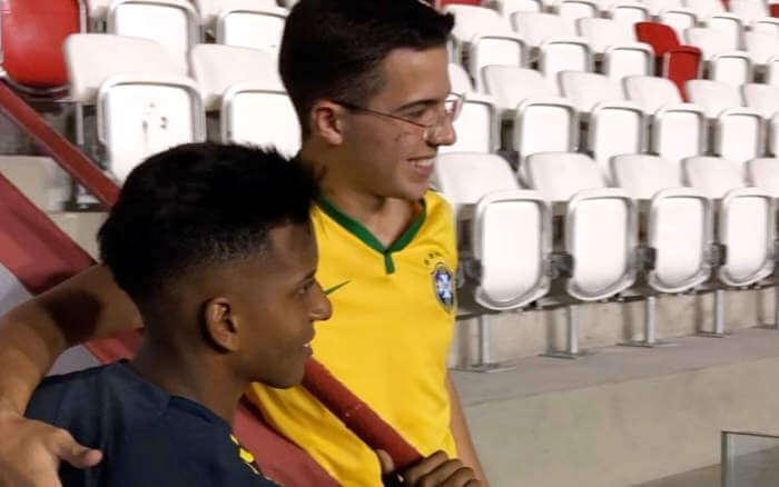 Os primeiros passos da Seleção Olímpica no estádio dos Aflitos