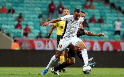 Sport reage na Fonte Nova e empata com Vitória aos 47. Teve 67% de posse