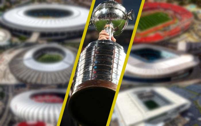 Os estádios candidatos à decisão da Libertadores 2020. Do Brasil, 6 palcos