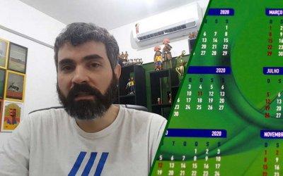 Vídeo   Análise do calendário (incompleto) do futebol brasileiro em 2020