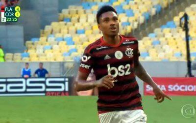 TV | As audiências de Flamengo x Corinthians na Globo, em 03/11, via Ibope