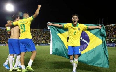 Brasil ganha o Mundial Sub 17 no Brasil com 100% de aproveitamento