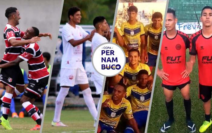 Com média de 3,05 gols, a Copa Pernambuco 2019 chega à semifinal