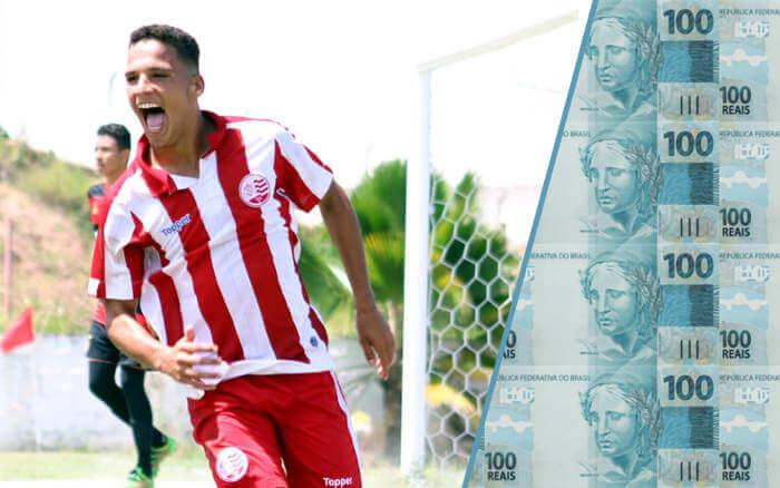 Aos 18 anos, Thiago vira a maior venda do Náutico. Flamengo paga R$ 7 milhões