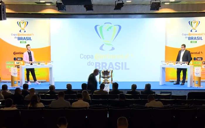 Ao vivo | O sorteio dos 40 confrontos na 1ª fase da Copa do Brasil de 2020