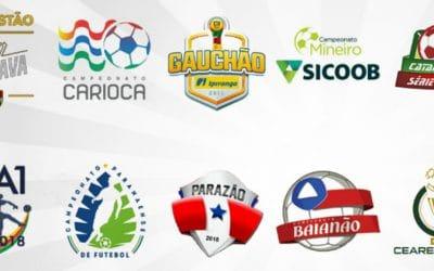 As 21 finais dos campeonatos estaduais de 2018, com clubes de 0 a 47 títulos. Pitacos?
