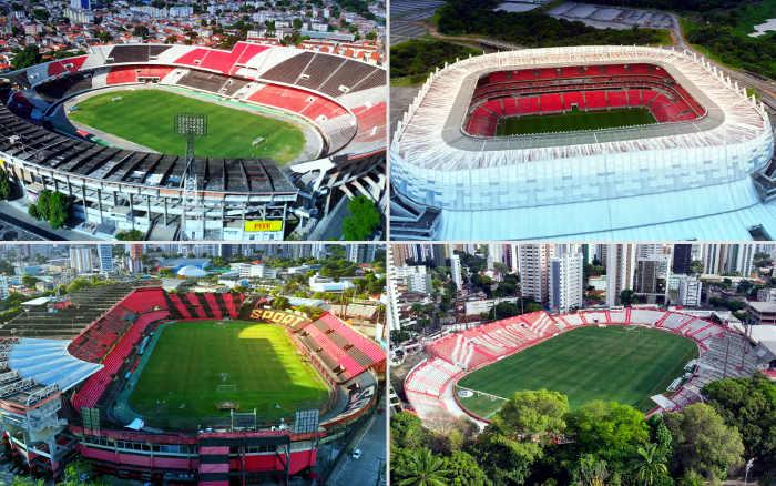 As maiores bilheterias do futebol pernambucano no Plano Real até 2021