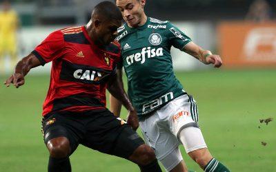 Sport vence o Palmeiras no Allianz Parque em partida emocionante