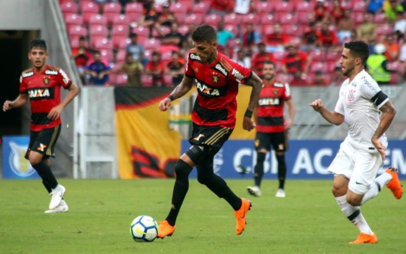 Estreando 3 jogadores, Sport empata com o misto do Corinthians na Arena