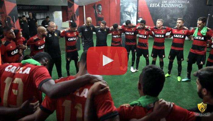 Vídeo – Os bastidores de Sport 2 x 0 Bahia, pelo Brasileirão de 2018