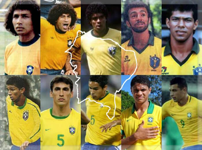 Todos os jogadores cedidos por clubes do Nordeste à Seleção Brasileira