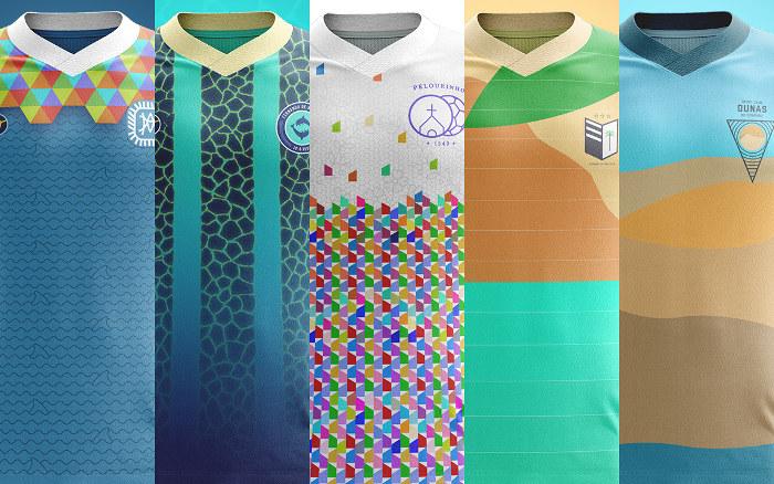 Os uniformes de 11 pontos turísticos do Brasil, incluindo 5 no Nordeste
