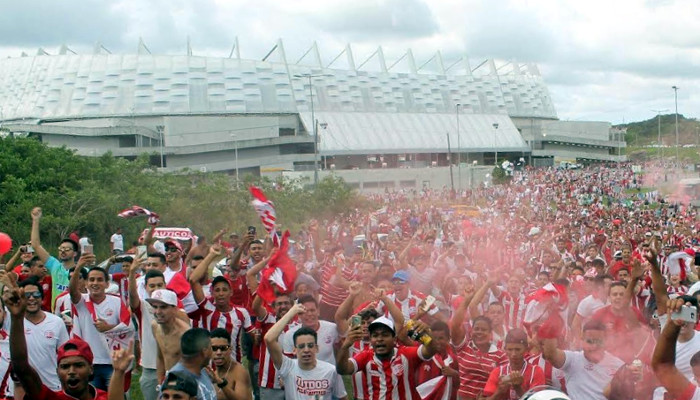 Os maiores públicos do Náutico como mandante na Arena Pernambuco