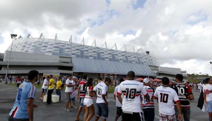 Os maiores públicos do Santa Cruz como mandante na Arena Pernambuco