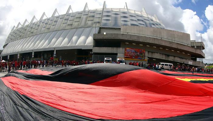 Os maiores públicos do Sport como mandante na Arena Pernambuco