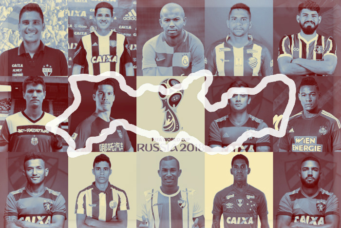 A seleção de Pernambuco para a Copa do Mundo de 2018. Time renovado…
