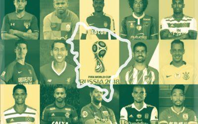 A seleção do Nordeste para a Copa do Mundo de 2018. Ataque de 1ª linha