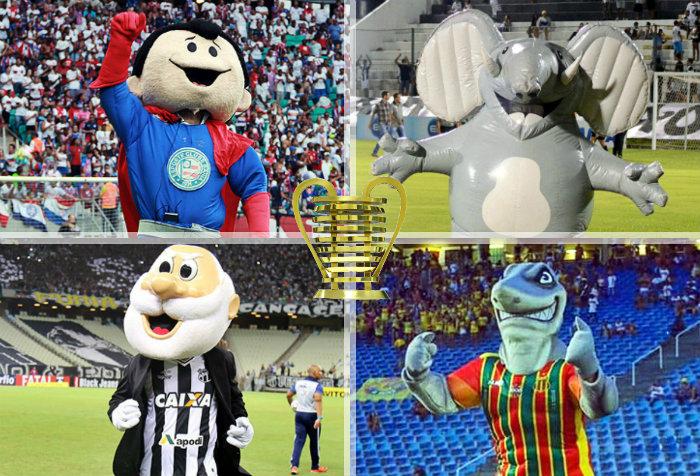 As semifinais do Nordestão 2018, com Bahia x Ceará e ABC x Sampaio Corrêa