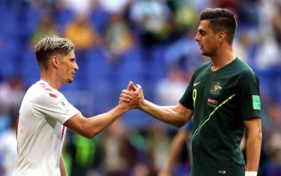Com equilíbrio e empate, Austrália e Dinamarca estendem a definição do C