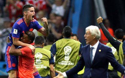 Colômbia joga bem e goleia a Polônia, a primeira cabeça-de-chave eliminada