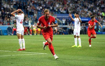 Com 2 finalizações e 2 gols, Harry Kane comanda a vitória da Inglaterra