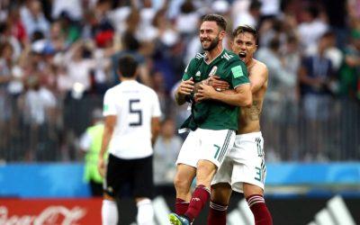 México vence a Alemanha, que perde chance de ser a maior invicta na Copa