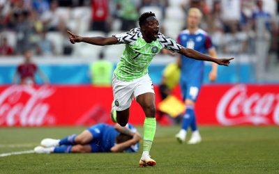 Nigéria vence a Islândia e recoloca a Argentina na briga pela classificação