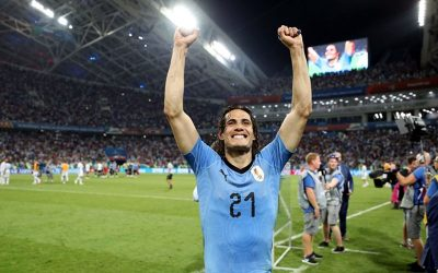 Cavani faz 2 gols e Uruguai elimina Portugal. Cristiano Ronaldo apagado